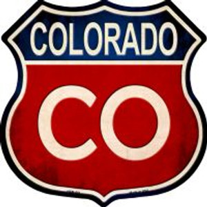Colorado Highway Shield Wholesale Novelty Metal Magnet