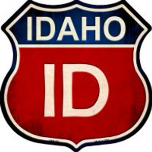 Idaho Highway Shield Wholesale Novelty Metal Magnet
