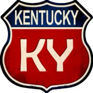 Kentucky Highway Shield Wholesale Novelty Metal Magnet