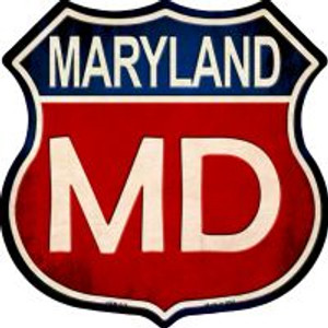 Maryland Highway Shield Wholesale Novelty Metal Magnet