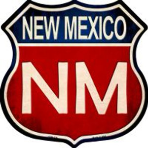 New Mexico Highway Shield Wholesale Novelty Metal Magnet