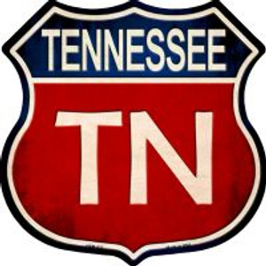 Tennessee Highway Shield Wholesale Novelty Metal Magnet