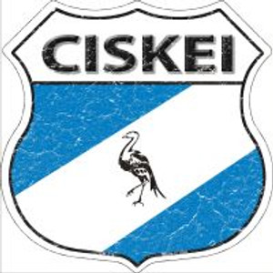 Ciskei Flag Highway Shield Novelty Metal Magnet