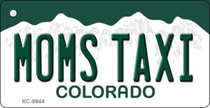 Moms Taxi Colorado Background Metal Novelty Wholesale Key Chain