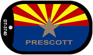 "Prescott Arizona State Flag Dog Tag Kit 2"" Wholesale Metal Novelty Necklace"