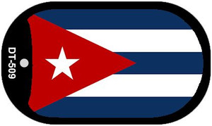 """Cuba Flag Country Flag Dog Tag Kit 2"""" Wholesale Metal Novelty Necklace"""