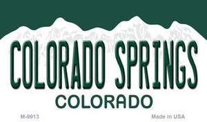 Colorado Springs Colorado Wholesale Metal Novelty Magnet