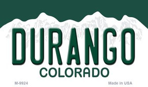 Durango Colorado State Wholesale Novelty Metal Magnet