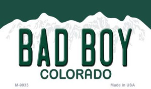 Bad Boy Colorado State Background Magnet Novelty Wholesale