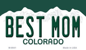 Best Mom Colorado State Wholesale Novelty Metal Magnet
