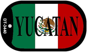 "Yucatan Dog Tag Kit 2"" Wholesale Metal Novelty Necklace"
