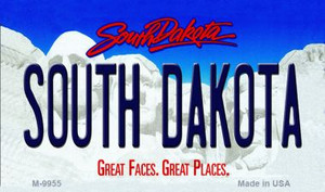 South Dakota South Dakota State Background Magnet Novelty Wholesale