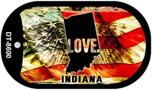 Indiana Love Wholesale Metal Novelty Dog Tag Necklace DT-8600