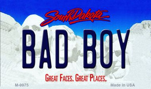 Bad Boy South Dakota State Background Magnet Novelty Wholesale