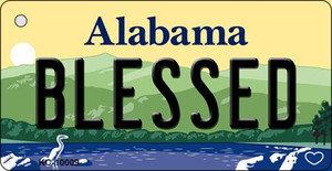 Blessed Alabama Wholesale Metal Novelty Key Chain