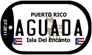 Aguada Puerto Rico Flag Dog Tag Kit Wholesale Metal Novelty Necklace