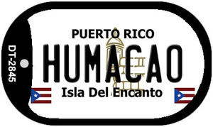 Humacao Puerto Rico Flag Dog Tag Kit Wholesale Metal Novelty Necklace