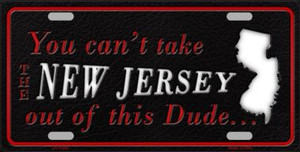 New Jersey Dude Wholesale Novelty Metal License Plate