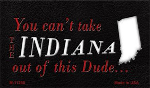 Indiana Dude Magnet Novelty Metal Wholesale M-11268