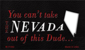 Nevada Dude Magnet Novelty Metal Wholesale M-11282