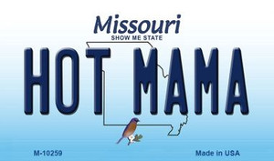 Hot Mama Missouri State License Plate Wholesale Magnet