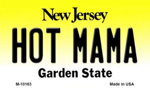 Hot Mama New Jersey State License Plate Wholesale Magnet