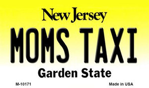 Moms Taxi New Jersey State License Plate Wholesale Magnet
