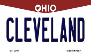 Cleveland Ohio State License Plate Wholesale Magnet