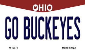Go Buckeyes Ohio State License Plate Wholesale Magnet
