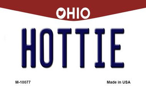 Hottie Ohio State License Plate Wholesale Magnet