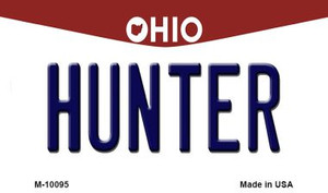Hunter Ohio State License Plate Wholesale Magnet