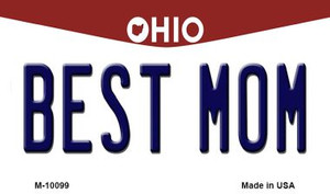 Best Mom Ohio State License Plate Wholesale Magnet
