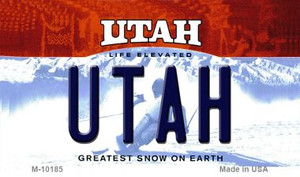 Utah State License Plate Wholesale Magnet
