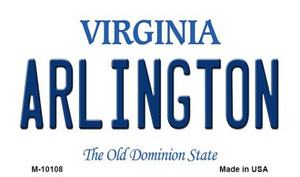 Arlington Virginia State License Plate Wholesale Magnet