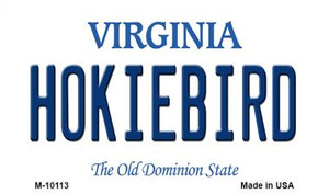 Hokiebird Virginia State License Plate Wholesale Magnet