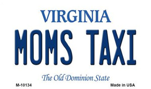Moms Taxi Virginia State License Plate Wholesale Magnet