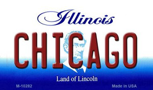 Chicago Illinois State License Plate Wholesale Magnet