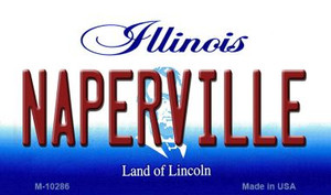 Naperville Illinois State License Plate Wholesale Magnet