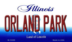 Orland Park Illinois State License Plate Wholesale Magnet