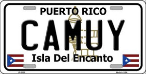 Camuy Wholesale Metal Novelty License Plate LP-2823