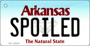 Spoiled Arkansas State License Plate Wholesale Key Chain KC-10047