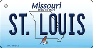 St. Louis Missouri State License Plate Wholesale Key Chain