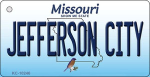 Jefferson City Missouri State License Plate Wholesale Key Chain