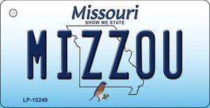 Mizzou Missouri State License Plate Wholesale Key Chain