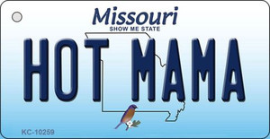 Hot Mama Missouri State License Plate Wholesale Key Chain