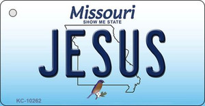 Jesus Missouri State License Plate Wholesale Key Chain