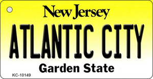 Atlantic City New Jersey State License Plate Wholesale Key Chain