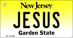 Jesus New Jersey State License Plate Wholesale Key Chain