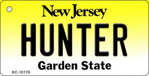 Hunter New Jersey State License Plate Wholesale Key Chain