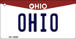 Ohio State License Plate Wholesale Key Chain